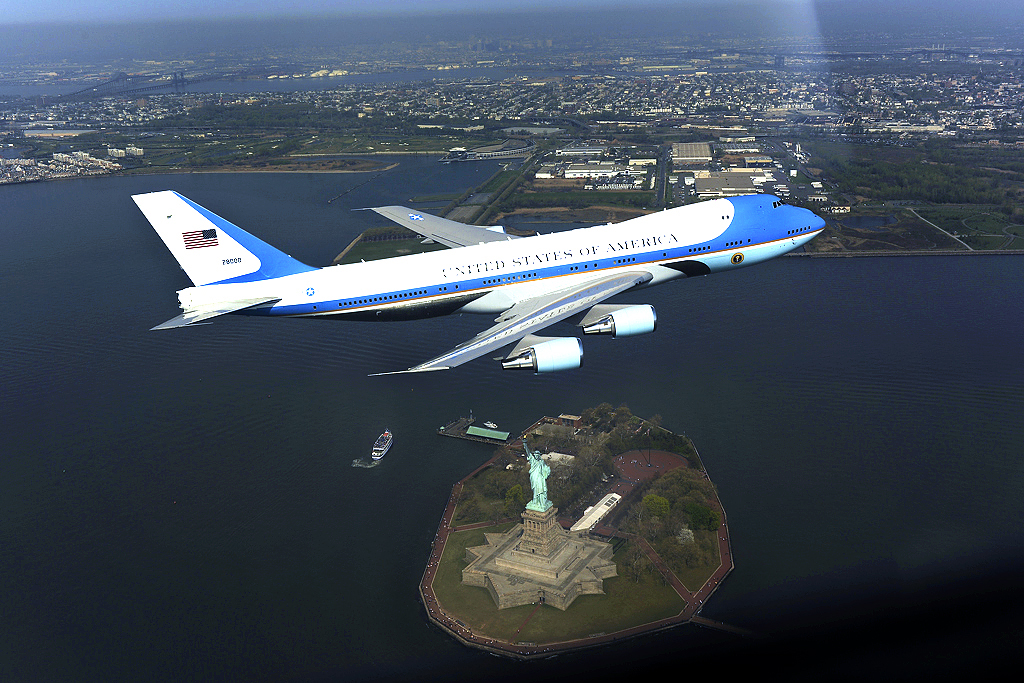 Air Force One New York