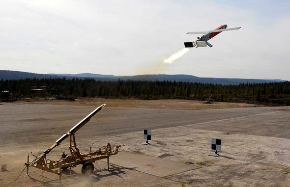 Explosives + Drone = LMAMS, the Remote-Controlled Missile