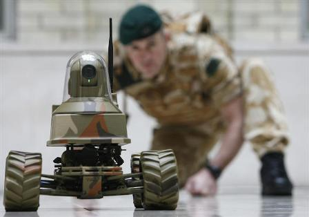 Robot and Soldier