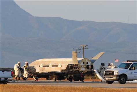 A Big Day For Space: X-37B Slated for Flight and Alleged UFO Cover-Up