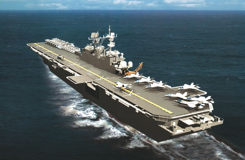 Artist's Rendering of the USS America