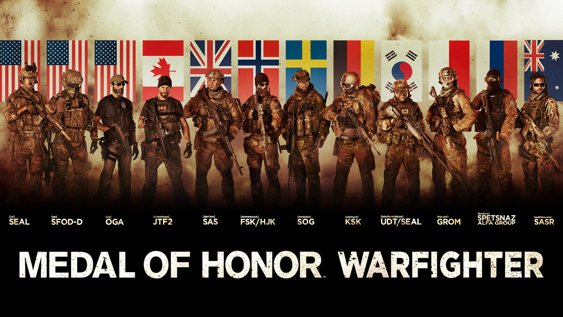 Medal of Honor: Warfighter Banner