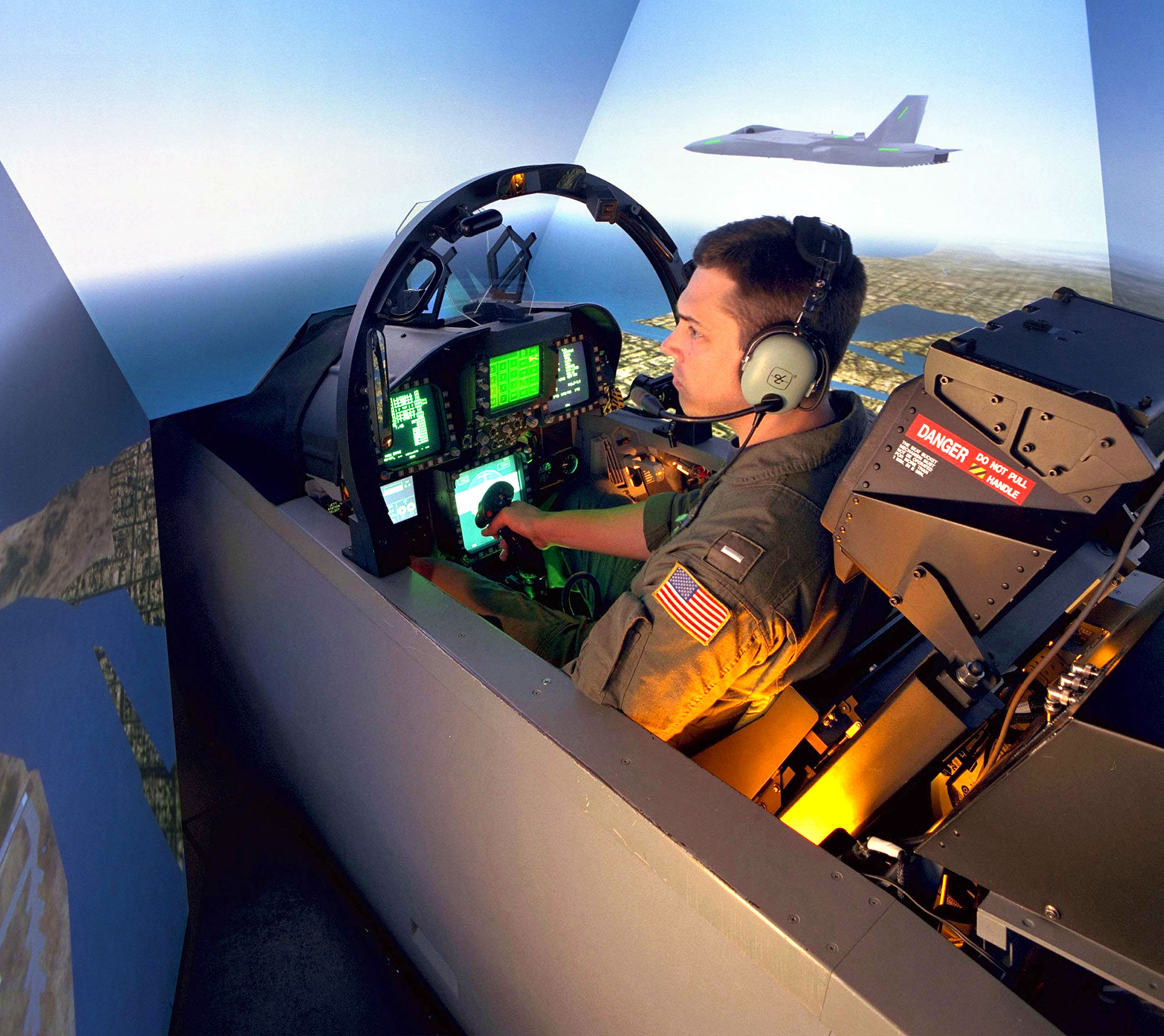 U.S. Military Investing in Simulators