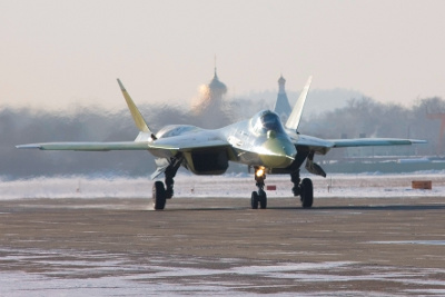 T-50 Stealth Fighter- The Russian Raptor?